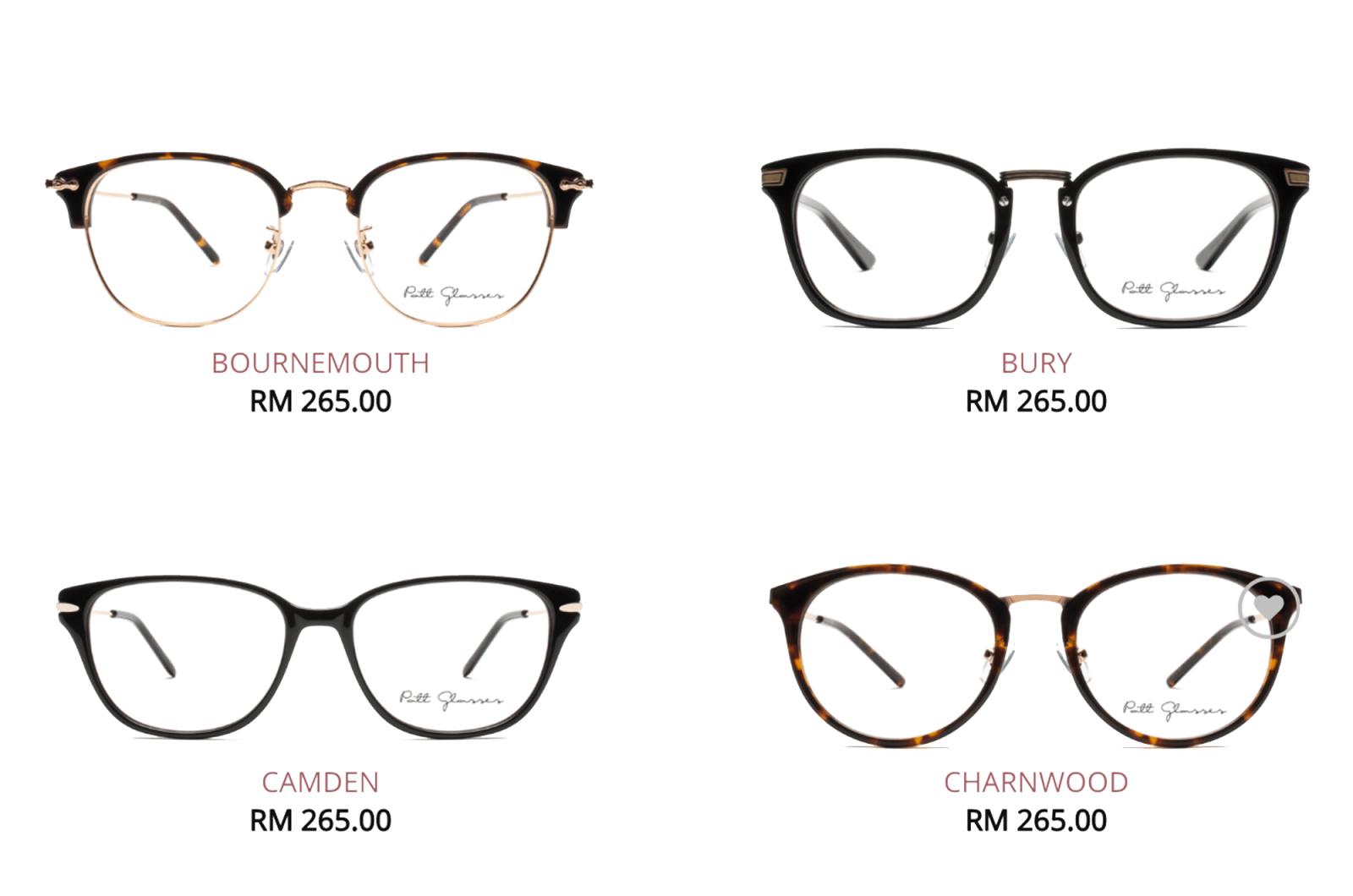 Online glasses store